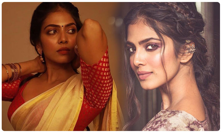 Beyond The Clouds Actor Malavika Mohanan Flaunts Her Sexy Curves in White-Gold Saree