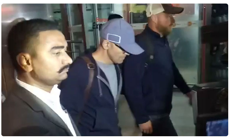 Satya Nadella Reaches Hyderabad for his father funeral