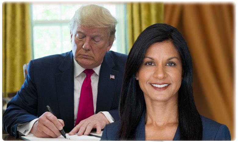 trump nominates indian-american shireen matthews as federal judge, ట్రంప్ ' పెద్ద మనసు '.ఫెడరల్ జడ్జిగా ఇండో-అమెరికన్ లాయర్
