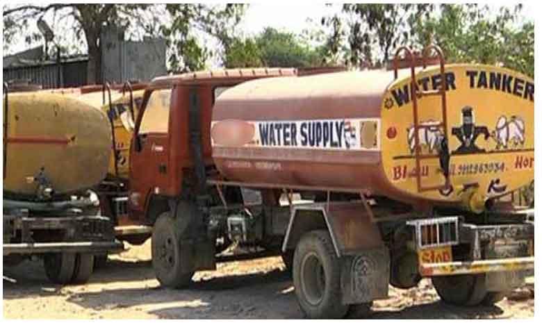Water mafia at Ameenpur in Hyderabad, వానాకాలంలో నీటి ఎద్దడి.. నీటిని అడ్డంగా తోడేస్తున్న  వాటర్ మాఫియా