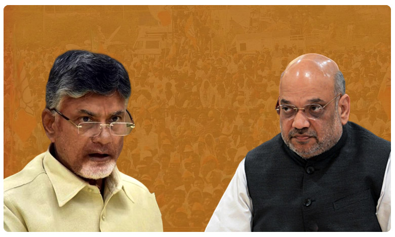 Is Chandrababu Gearing Up To Join Hands With Bjp Again? Whats bjp's Reaction?, బాబు తహతహపై.. బీజేపీ నీళ్లు