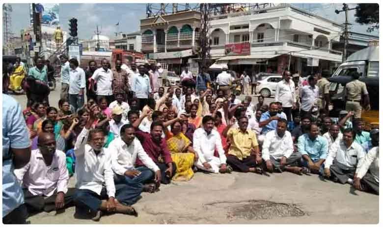 RTC Employees Strike Continues, నోటీసులు ఇవ్వకుండా.. సస్పెండ్ చేయడం పై ఆర్టీసీ కార్మికుల ఆగ్రహం