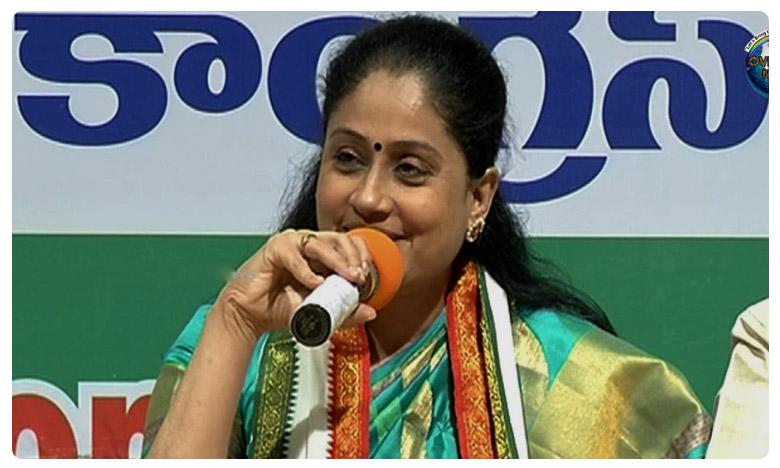 Vijayshanthi plank card for bjp, ఎక్కడున్నా ఆమె ఓ అమూల్యమైన పోల్ స్టారే..!