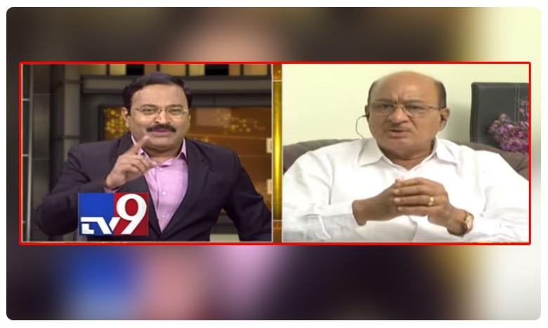 TV9 Big news Big debate TDP senior leader Gorantla comments on party changings