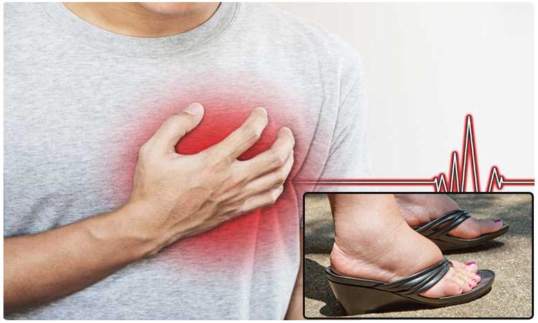swollen legs hint at heart disease, మీ కాళ్లలో వాపులున్నాయా? నిర్లక్ష్యం చేస్తే డేంజరే..!