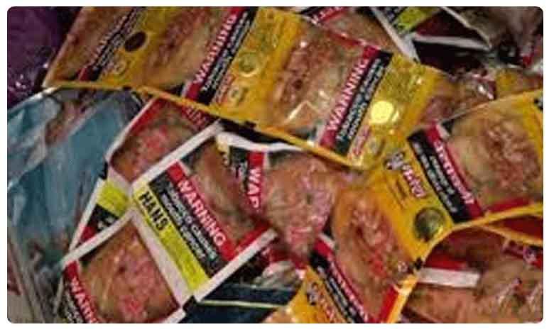 Andhra police conducts raids seizes banned tobacco products, లక్షల విలువైన పొగాకు ఉత్పత్తులు సీజ్ ..ఎక్కడంటే?