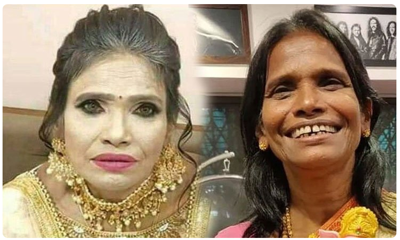 Ranu Mandal People Are Trolling Ranu Mondal For Her Unusual Makeup, సింగర్ మేకప్ .. బాబోయ్ ! ఇదేం బిల్డప్ ?