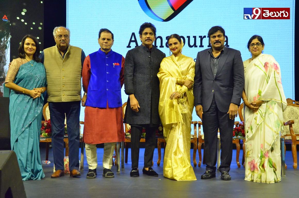 The Prestigious 'ANR National Awards'Photos, కనులవిందు గా ఏ. ఎన్.ఆర్ అవార్డ్స్ వేడుక