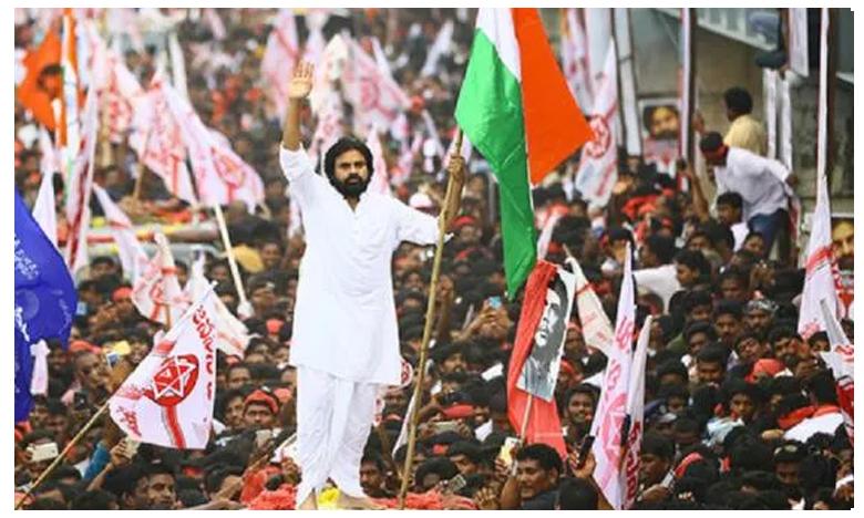 Janasena Long March : Huge Members of Party Followers & Fans Gathered, ఇసుక కోసం సేనాని కవాతు..ఇసుకేస్తే రాలని జనం