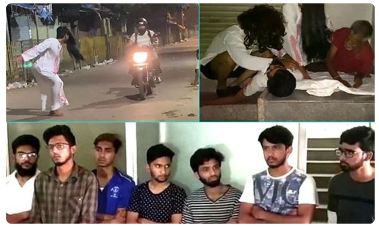 Police arrests seven after they dress up as ghosts and scare people, ప్రాంక్ వీడియోల పేరుతో హంగామా..బెండు తీసిన పోలీసులు