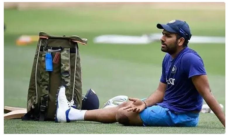 Ind vs Bangla: Rohit Sharma gives Men in Blue injury scare ahead of 1st T-20, టీమిండియాకు షాక్.. రోహిత్కు గాయం..