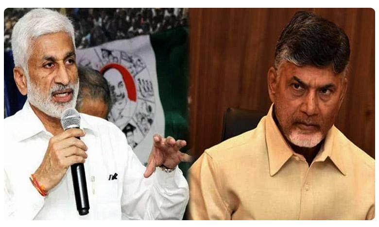 vijayasai says chandrababu has a disease, చంద్రబాబుకు 'ఆ' వ్యాధి… ట్విట్టర్లో రెచ్చిపోయిన విజయసాయి