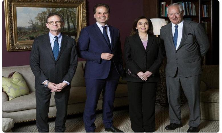 Nita Ambani Becomes 1st Indian Trustee to be Elected to Board of New York's Metropolitan Museum of Art, రిలయన్స్ ఇండస్ట్రీస్ ఛైర్మన్ సతీమణికి అరుదైన గౌరవం..