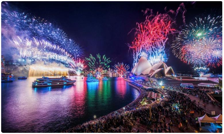 Sydney Light Show, న్యూఇయర్కి సిడ్నీ లైట్ షో అద్భుతం