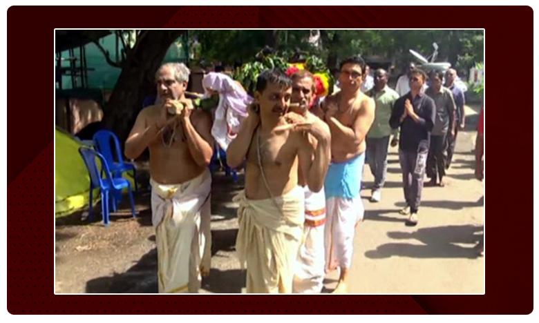 Gollapudi Maruthi Rao Last Rites, గొల్లపూడి మారుతీ రావు అంత్యక్రియలు పూర్తి