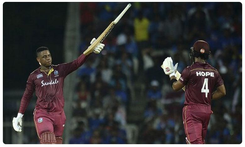 India vs West Indies..1st ODI: Hetmyer and Hope lead Windies to Eight wicket victory, చెలరేగిన హెట్మైర్, హోప్.. విండీస్ ఘనవిజయం