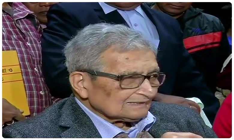Amartya Sen called for unity in opposing the Citizenship (Amendment) Act, 'ఐక్యత లేకపోతే'… సీఏఏ వ్యతిరేక నిరసనలపై అమర్త్యసేన్ వ్యాఖ్యలు!