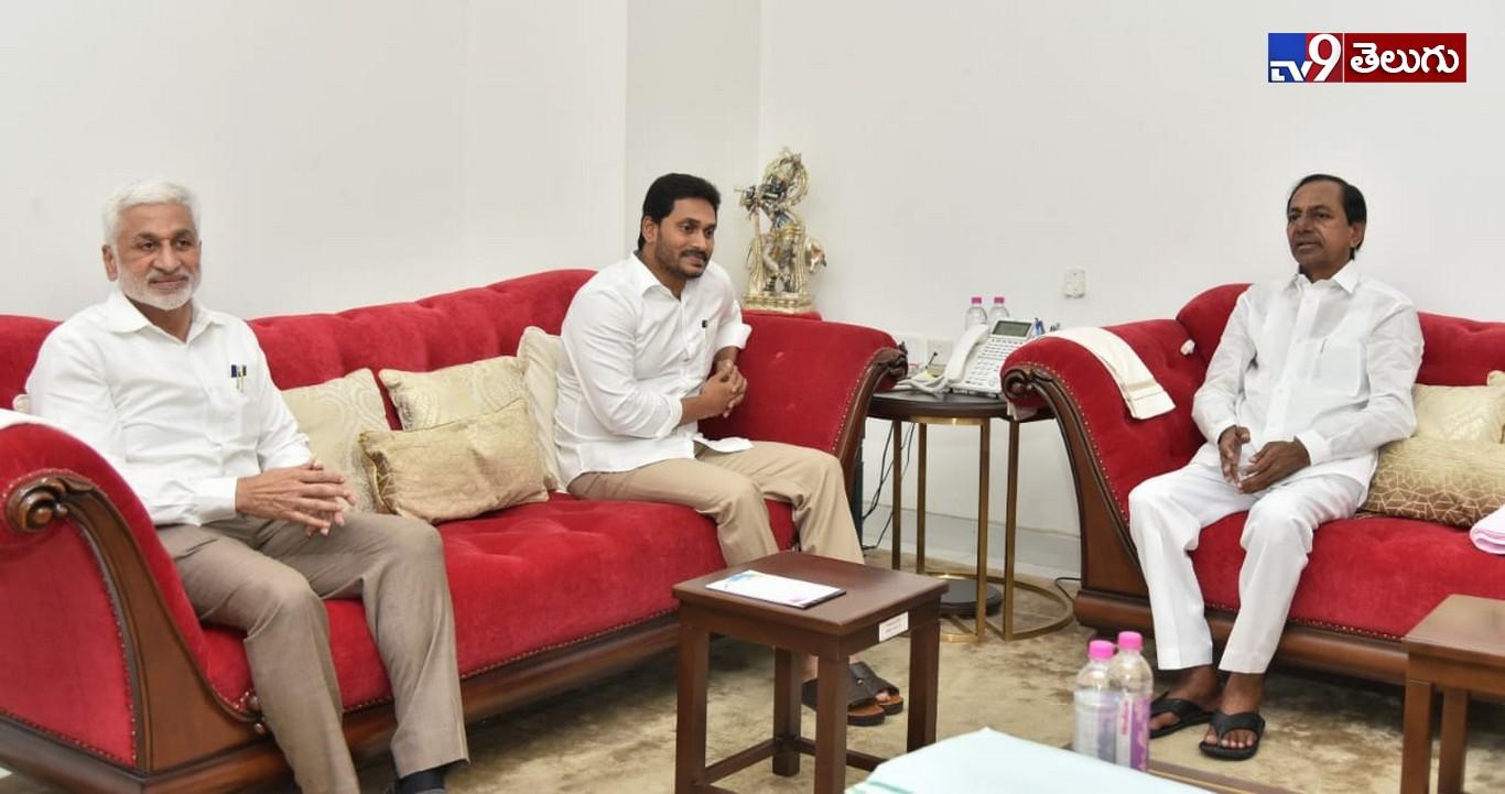 Telugu States CM Meeting, సీఎం కేసీఆర్ తో ఏపీ సీఎం వైఎస్ జగన్ భేటీ