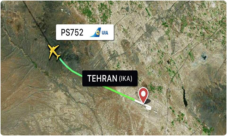 Boeing 737 Crashes in Iran Shortly After Takeoff, ఉక్రేనియన్ విమానం కూలి.. 180 మంది మృతి