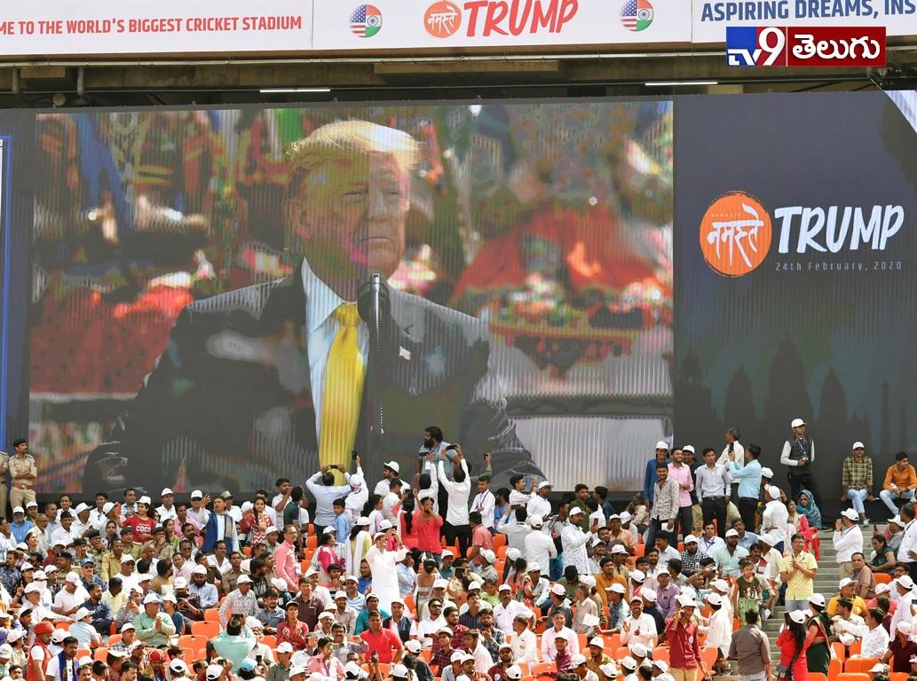 Namastee Trump, అమెరికా అధ్యక్షుడు డొనాల్డ్ ట్రంప్  భారత్ పర్యటన