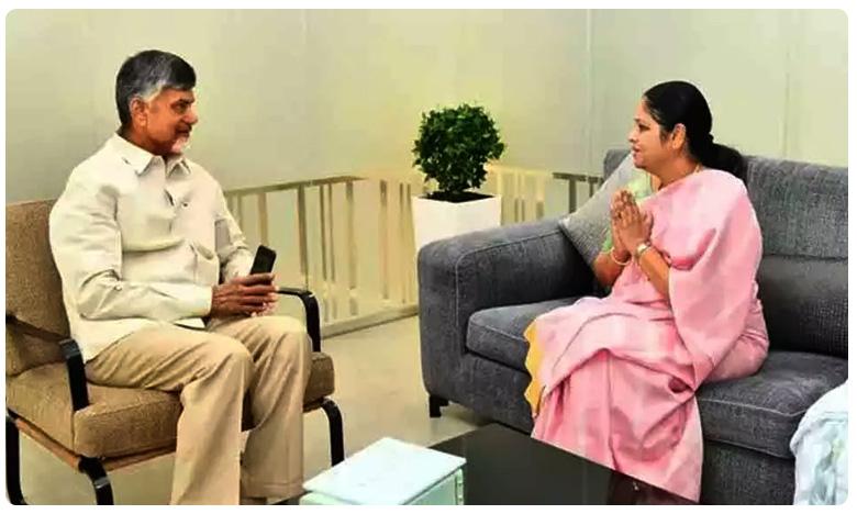 Ysrcp Leader Jayasudha Meets Tdp Chief Chandrababu Naidu To Invite Him For Her Son's Wedding, Jayasudha : చంద్రబాబుతో వైసీపీ నేత జయసుధ భేటీ..ఎందుకంటే..?