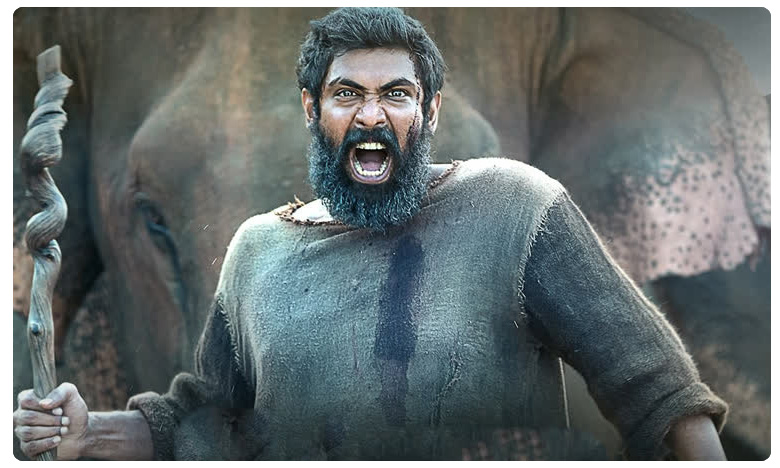 "Rana Daggubati looks intense in Aranya, ప్రజంటింగ్ యూ అరివీర భయంకర ""అరణ్య"""