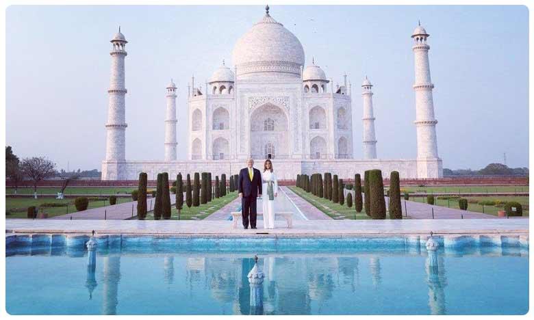 Trump visit, Trump visit: భారత పర్యటనలో.. మెలానియా తీపిగురుతులు.. అవే తాజ్ అందాలు!