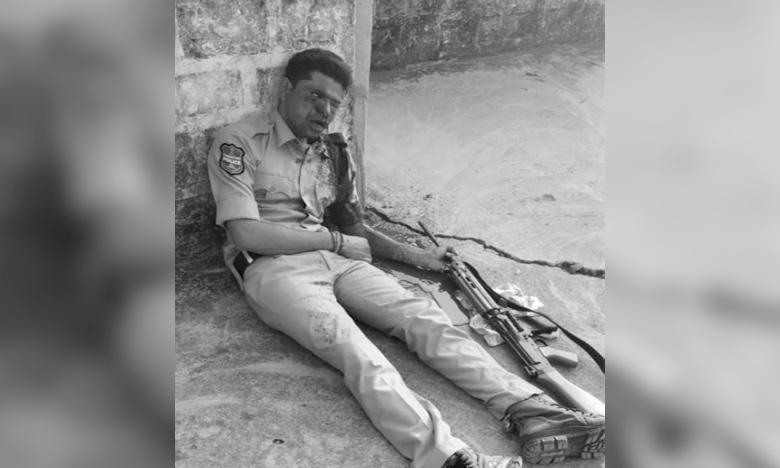 Gun Misfire: Bullet into the constable head in Komaram bheem, బ్రేకింగ్ న్యూస్: గన్ మిస్ ఫైర్.. కానిస్టేబుల్కి తలలోకి తూటా