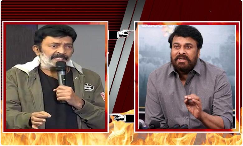 Rajasekhar targets Chiranjeevi, చిరుకు ఝలక్ ఇచ్చిన రాజశేఖర్..!