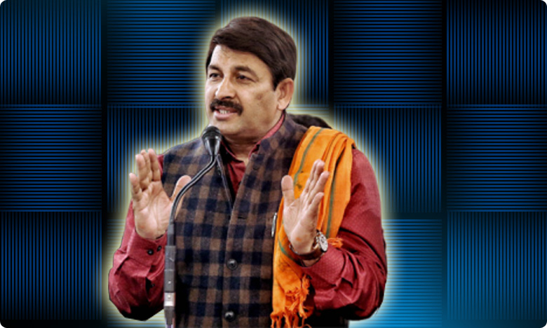bjp will form govt. in delhi says manoj tiwari, 'నా ఆరో సెన్స్ చెబుతోంది.' మనోజ్ తివారీ