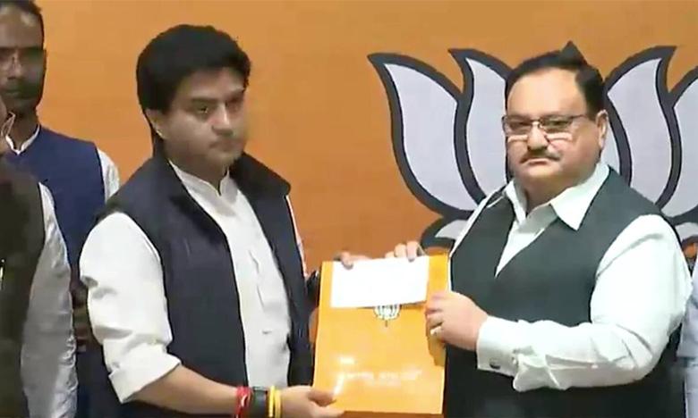 bjp announces rajya sabha candidates, బీజేపీ రాజ్యసభ అభ్యర్థిగా సింధియా…