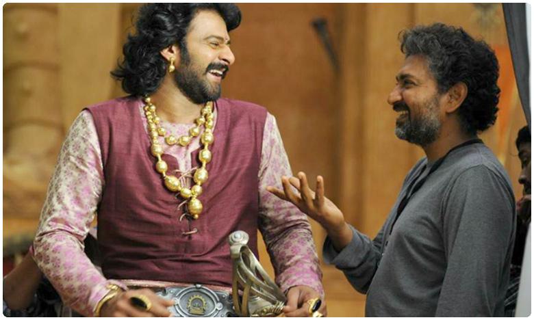 Director Rajamouli Talks about Tollywood Hero Prabhas, ప్రభాస్ మాట్లాడితే వెర్రిబాగులోడులా ఉంటాడు..