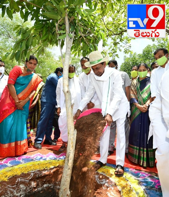 CM KCR, ఆరో విడుత హరితహారం ప్రారంభం సందర్భంగా ముఖ్యమంత్రి కేసీఆర్