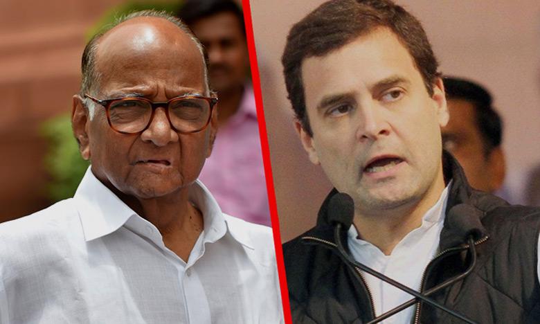 Rahul Gandhi Double Edged Tweets, పరోక్షంగా శరద్ పవార్ పైనా రాహుల్ ఫైర్