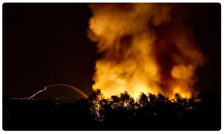 Fire breaks out in Shahbad dairy area in Delhi, దేశ రాజధానిలో మరో భారీ అగ్నిప్రమాదం