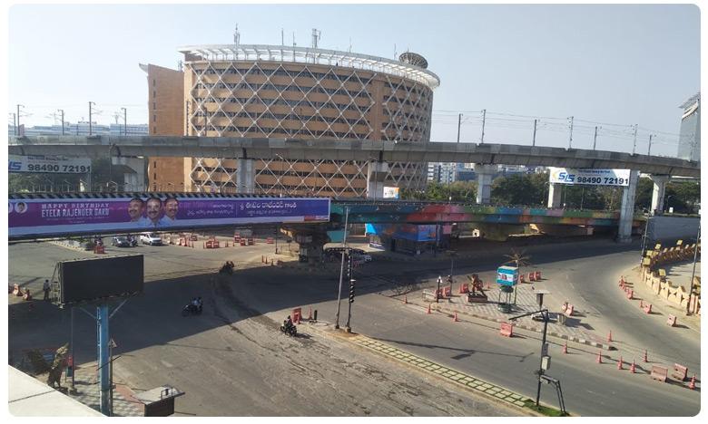 Empty Roads in Hyderabad, కరోనా ఎఫెక్ట్.. ఖాళీగా దర్శనమిస్తున్న హైదరాబాద్ రోడ్లు..