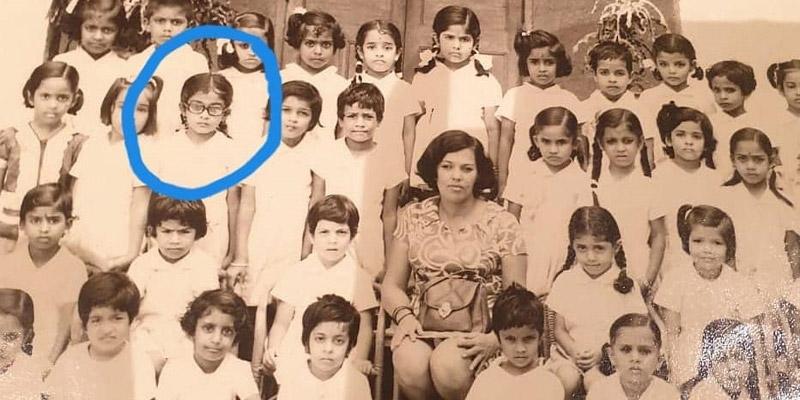 Ramya Krishnan childhood pic, వైరల్గా రమ్యకృష్ణ చిన్నప్పటి ఫొటో.. ఎంత క్యూట్గా ఉన్నారో