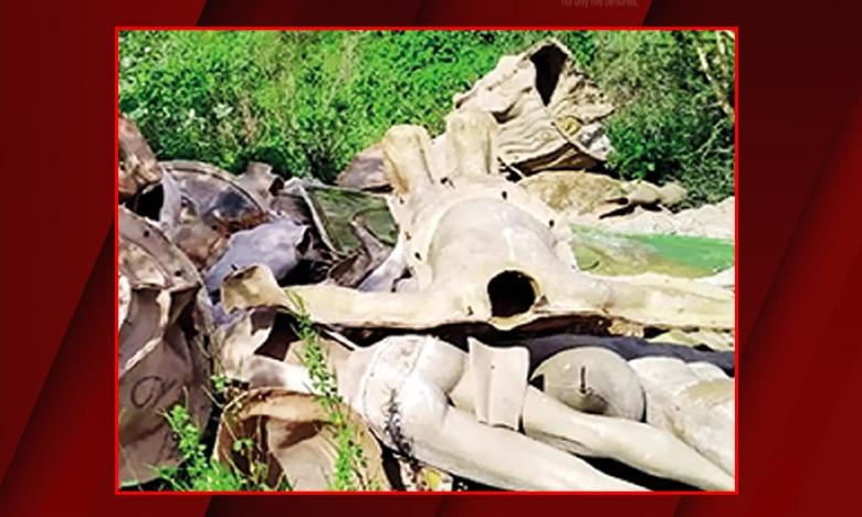 Artwork damaged in Hyderabad, జాతీయ అవార్డు గెలుచుకున్న శిల్పి కళాకృతులు ధ్వంసం, రూ .40 లక్షలు నష్టం