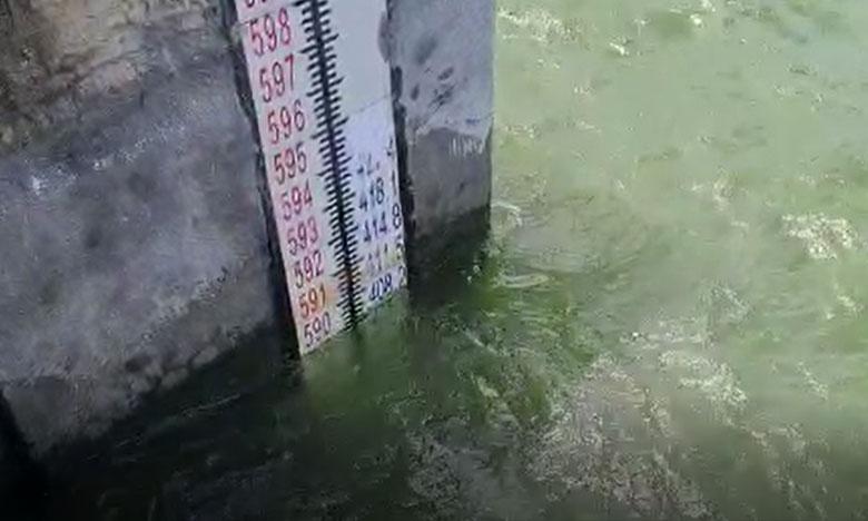 Highest flood level witnessed in Nagarjuna sagar dam, ఉప్పొంగుతోన్న నాగార్జున సాగర్ డ్యాం