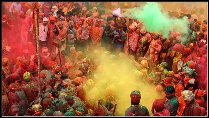 Holi Festival Holi Celebrations In Nizamabad Fun Fight (3)