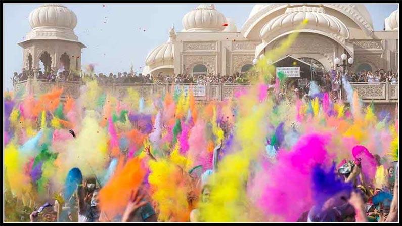Holi Festival Holi Celebrations In Nizamabad Fun Fight (4)