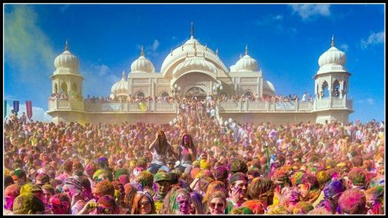 Holi Festival Holi Celebrations In Nizamabad Fun Fight (5)