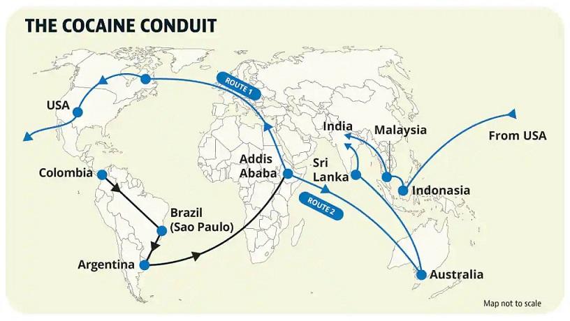 Mumbai As Cocaine Capital Of India